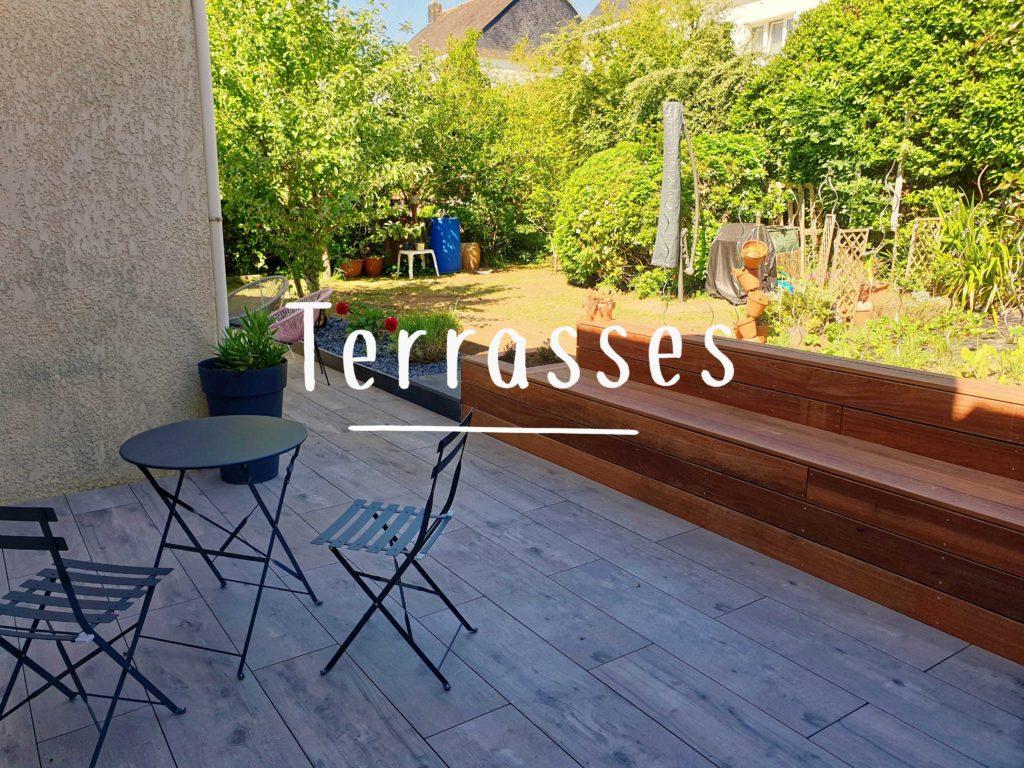 Réalisations, Bouix Paysage, terrasse, terrasses
